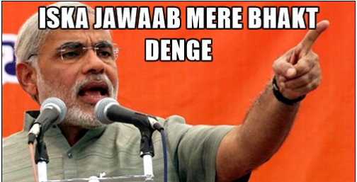 Image result for narendra modi bhakts