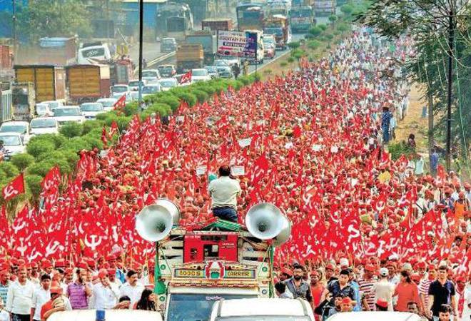 In Defense of Communism: Kisan March